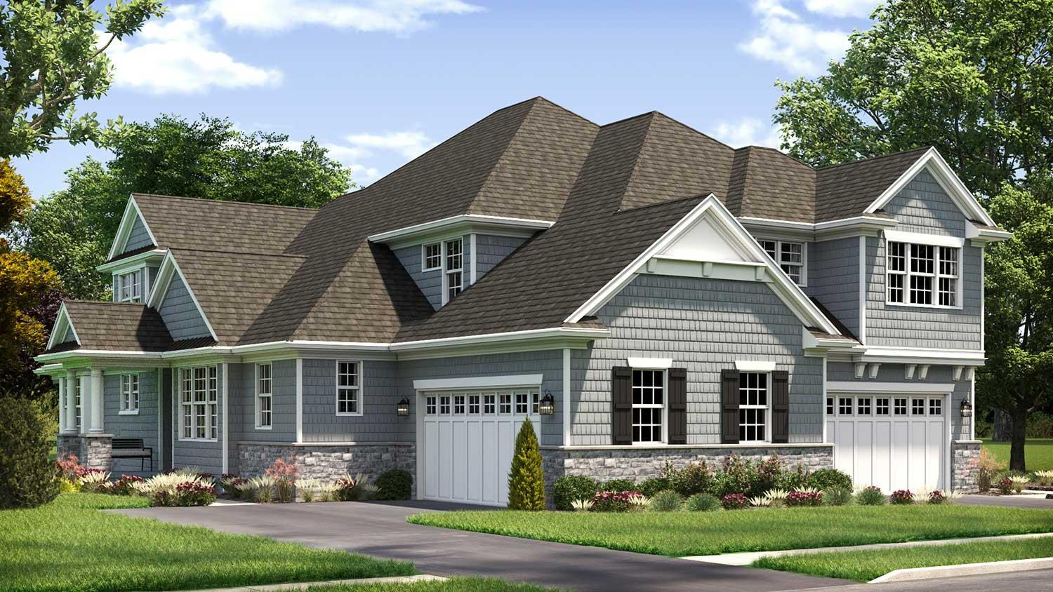 Single Family for Active at Hinsdale Meadows - Becket 502 Hannah Lane Hinsdale, Illinois 60521 United States