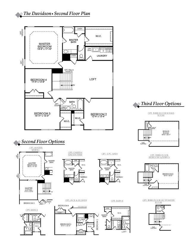 Eastwood homes davidson floor plan for Eastwood homes floor plans