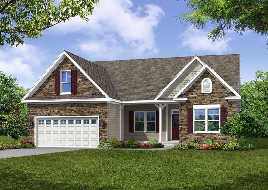 Eastwood homes castleton caldwell 1241802 henrico va for Eastwood homes floor plans