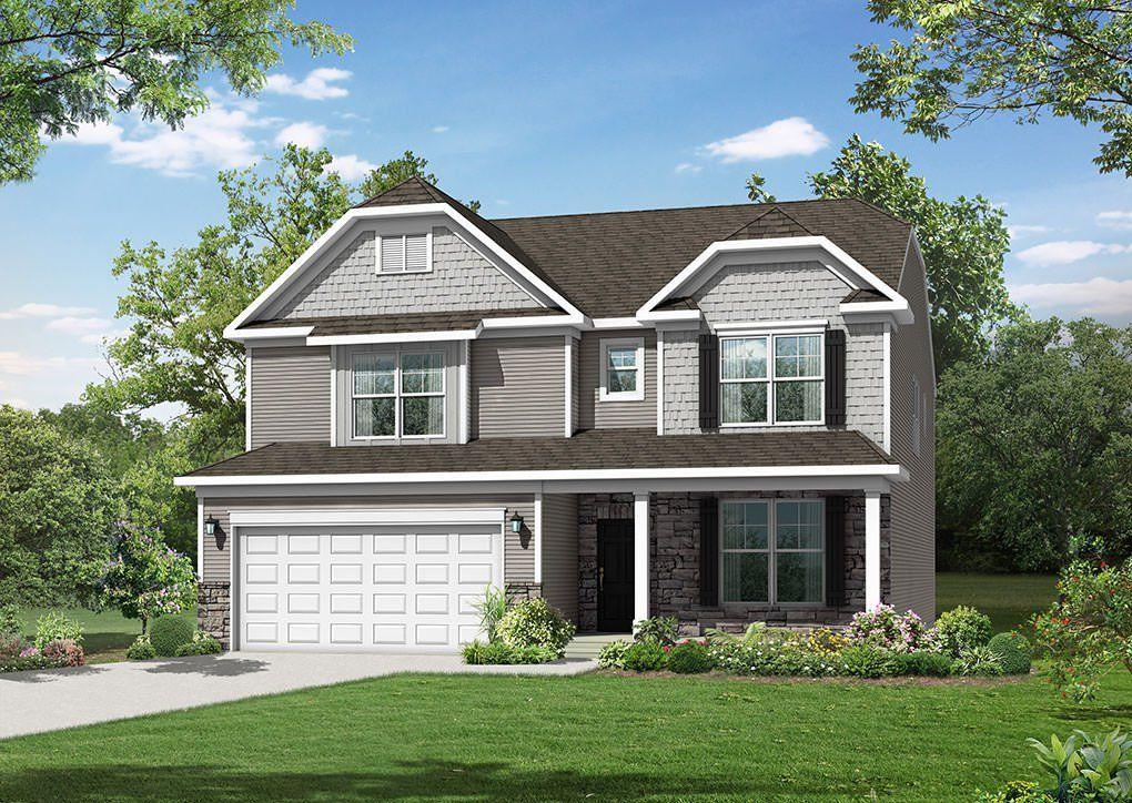 Single Family for Sale at Robinson Oaks - Davidson 1303 Wiggins Drive Gastonia, North Carolina 28054 United States