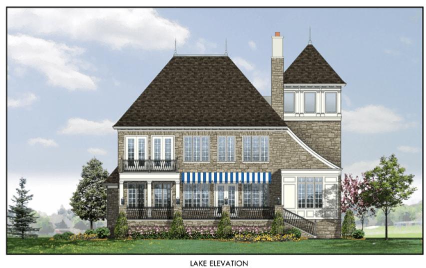 单亲家庭 为 销售 在 Snug Harbor Village - French Chateau 11943 Mcmurray Way Buckeye Lake, Ohio 43008 United States