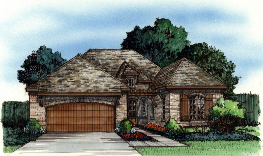 Single Family for Sale at Ladera Highland Village - Castella 1010 Chinn Chapel Rd Highland Village, Texas 75077 United States