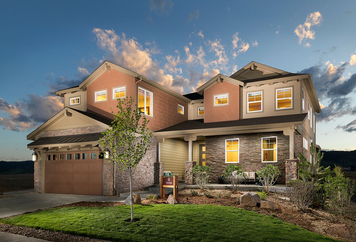 Single Family for Sale at The Aspire 3686 Middle Peak Drive Broomfield, Colorado 80023 United States