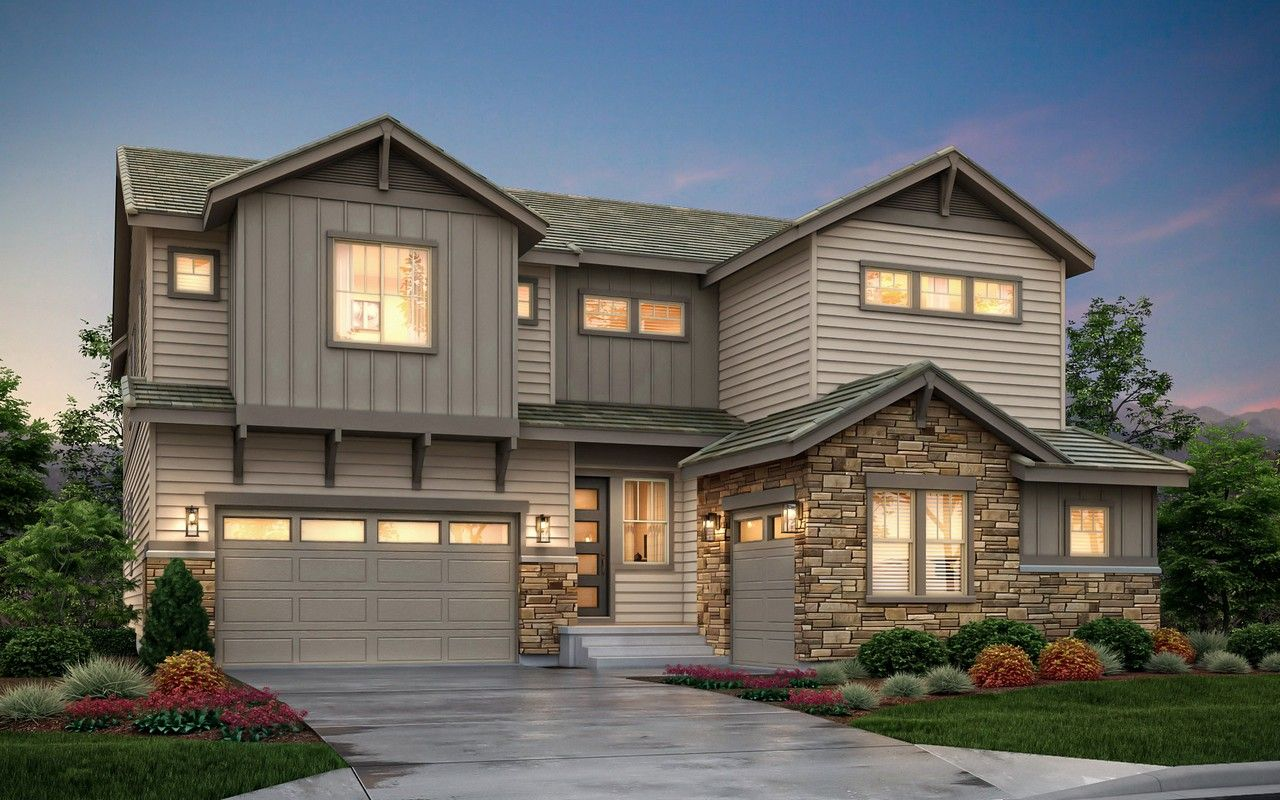 Single Family for Sale at Anthem Highlands - The Pinnacle 16141 Mount Oso Place Broomfield, Colorado 80023 United States