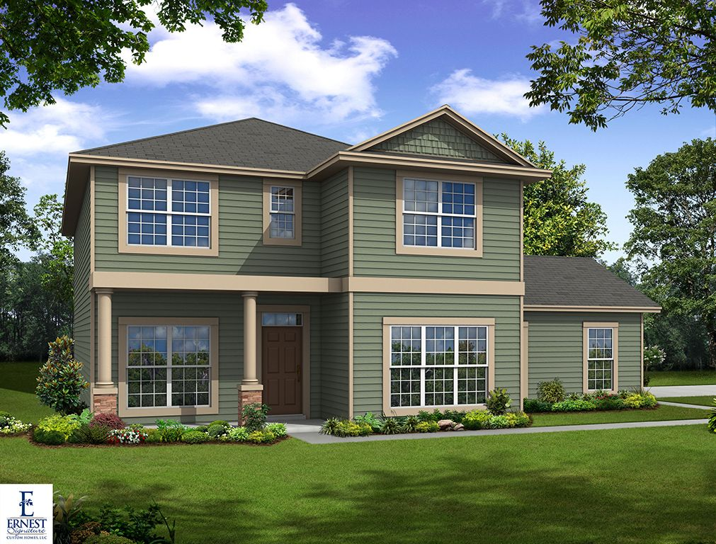 Ernest signature custom homes dunham marsh mimosa Richmond signature homes