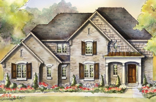 Single Family for Active at Flat Fork - The Alder 10910 Edgewood Drive Fortville, Indiana 46040 United States
