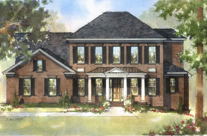 Single Family for Active at Flat Fork - The Berkshire 10910 Edgewood Drive Fortville, Indiana 46040 United States