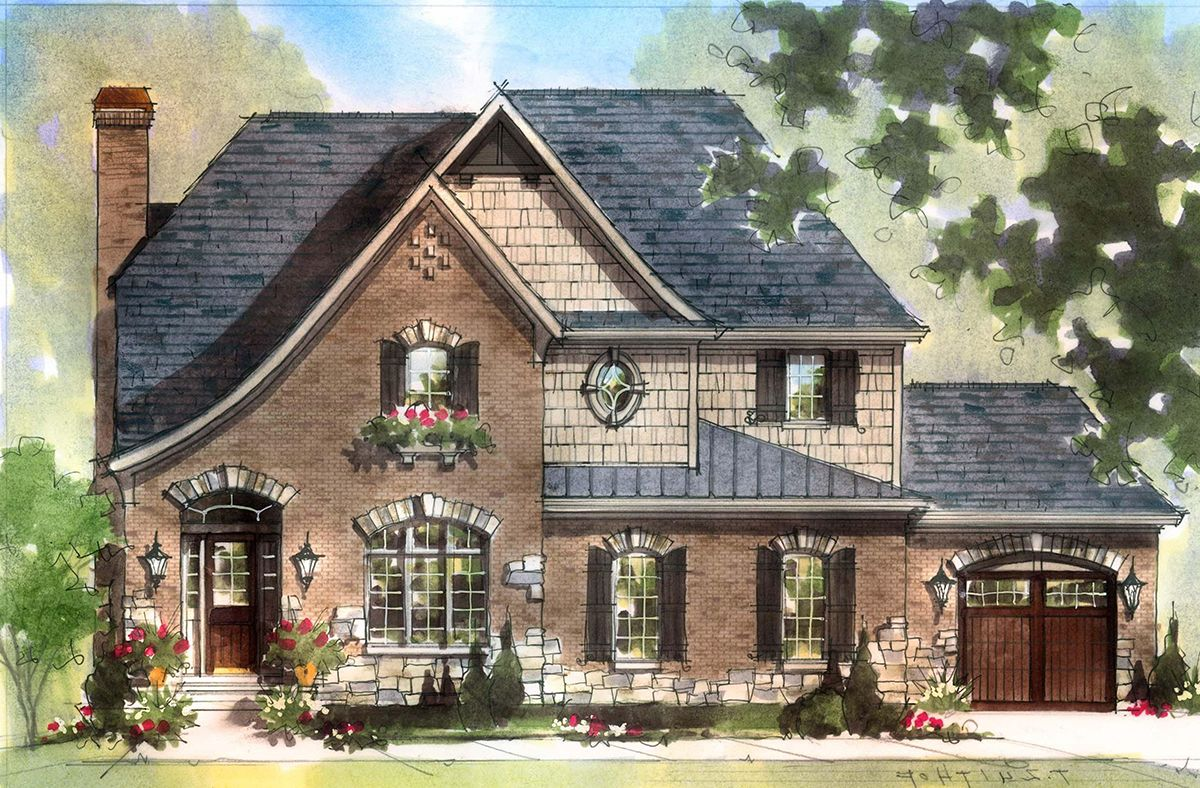 Single Family for Active at Flat Fork - The Halton 10910 Edgewood Drive Fortville, Indiana 46040 United States