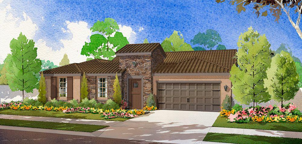 Single Family for Sale at The Crescendo 209 Landmark Lane Lodi, California 95242 United States