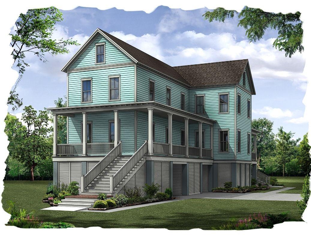 Single Family for Sale at Freeman's Point - Creekside 1321 Seaside Plantation Drive Charleston, South Carolina 29412 United States