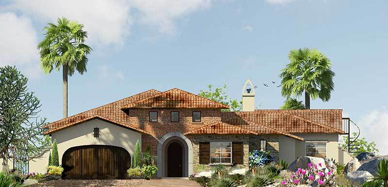 Single Family for Sale at Tuscany Heights - Plan 1x 2201 Tuscany Heights Dr. Palm Springs, California 92262 United States