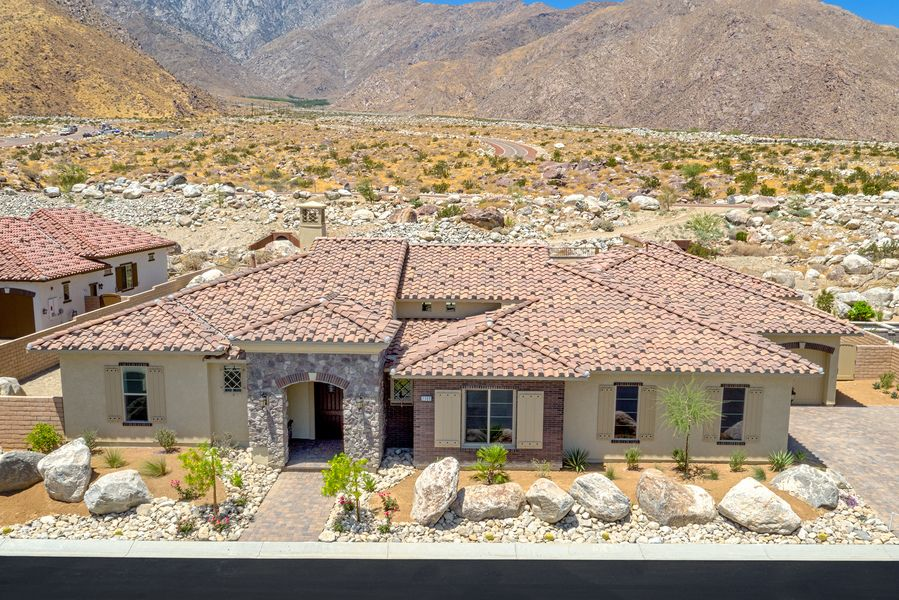 Single Family for Sale at Tuscany Heights - Plan 2 2201 Tuscany Heights Dr. Palm Springs, California 92262 United States