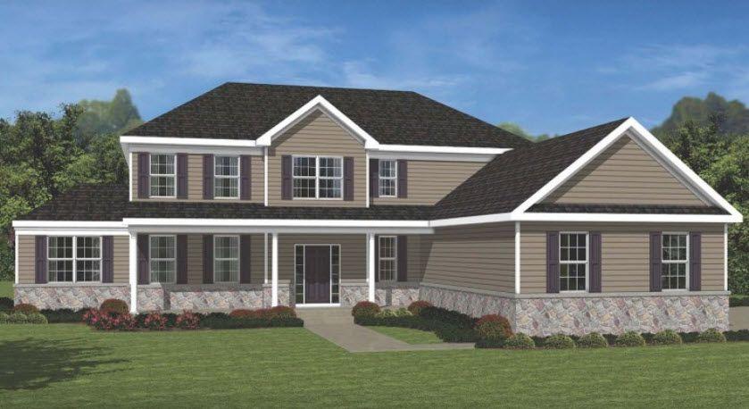 Unique la famille pour l Vente à Chestnut Ridge - Elm 15 Oak View Terrace Swedesboro, New Jersey 08085 United States