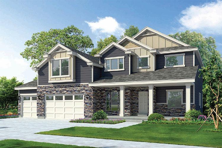 Single Family for Active at Vista Ridge - The Grand Gallivan 2391 West Silver Fox Lane Lehi, Utah 84043 United States