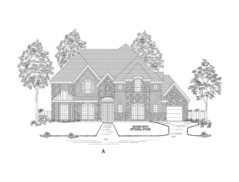 Single Family for Active at Creek Meadows - Bentley Fs (W/Media) 7751 Faught Road Argyle, Texas 76226 United States