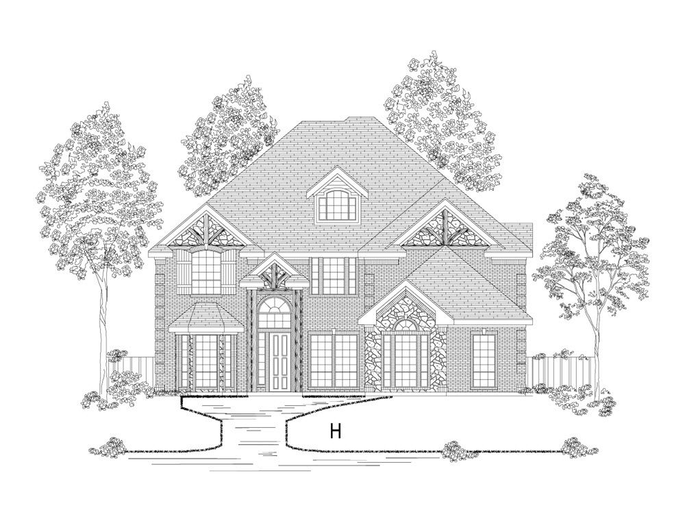 Single Family for Sale at Parkside Farms - Crestwood Fsw 3604 Fritz Lane Denton, Texas 76208 United States