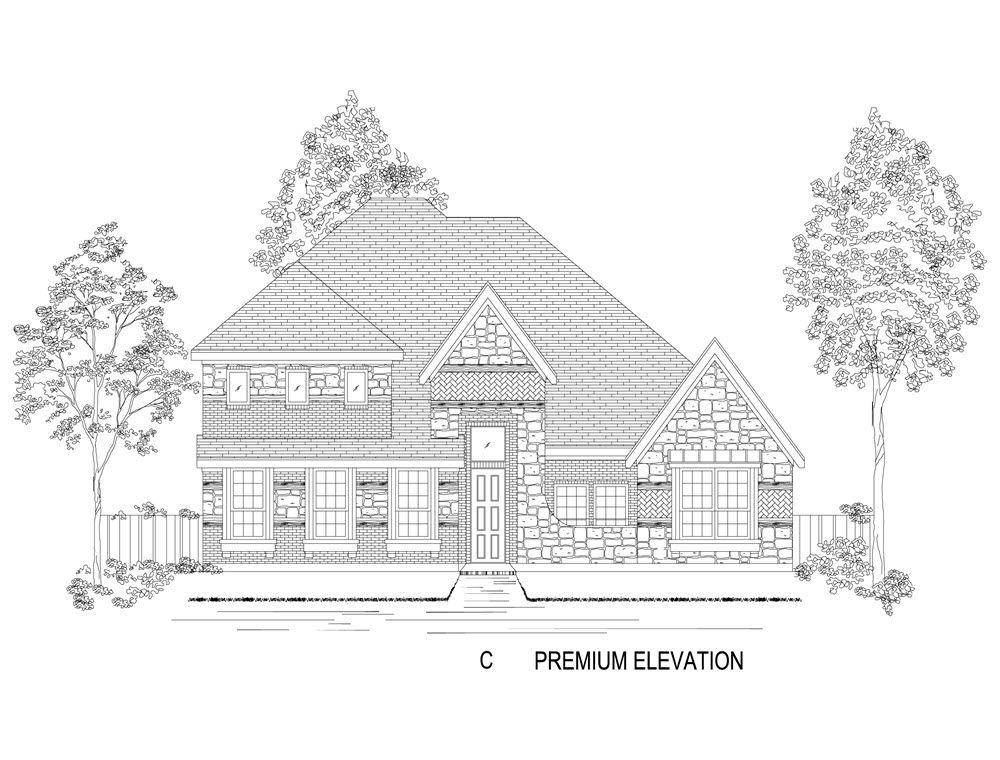 Single Family for Active at Mercer Crossing West - 60' Brenton R (W/Media) Opt @ Mc 12509 Royal Oaks Lane Farmers Branch, Texas 75234 United States