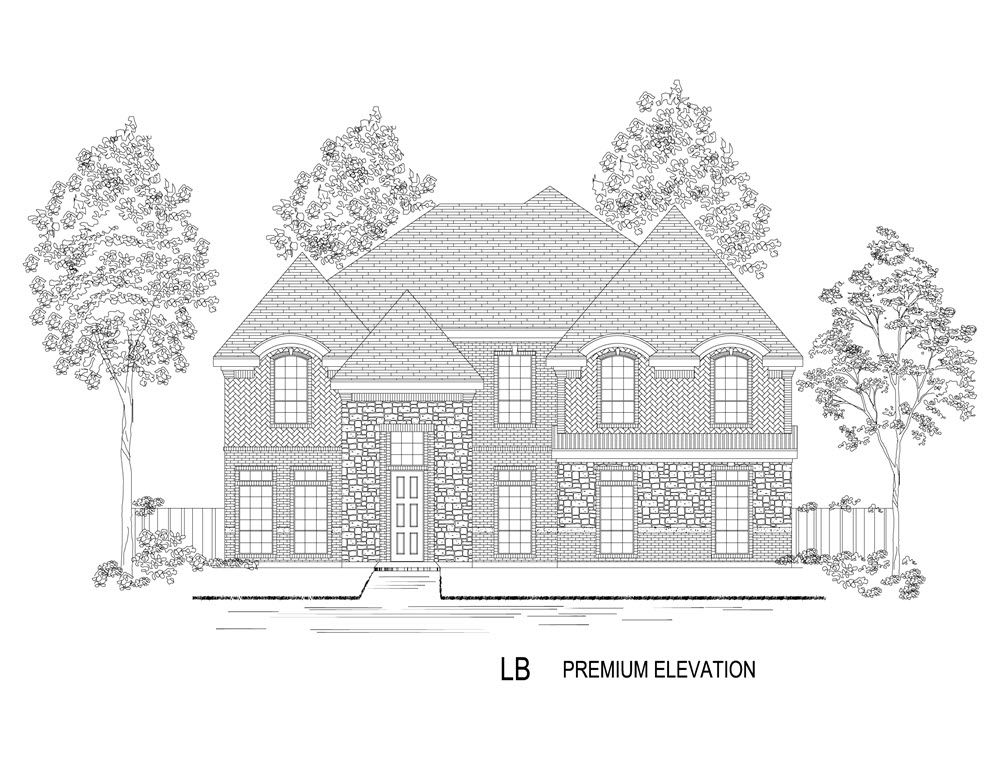 Single Family for Active at Mercer Crossing West - 60' Hillcrest R (W/Media) @ Mc 12509 Royal Oaks Lane Farmers Branch, Texas 75234 United States