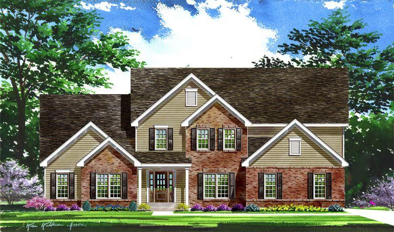 Single Family for Active at Pevely Farms - Westbrooke - Vista 344 Stonewall Drive Eureka, Missouri 63025 United States