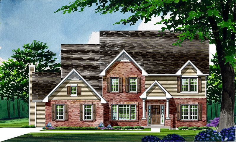 Single Family for Active at Wyndgate Oaks-Reserve - Waterford - Estate 403 Long Gate Court Wentzville, Missouri 63385 United States