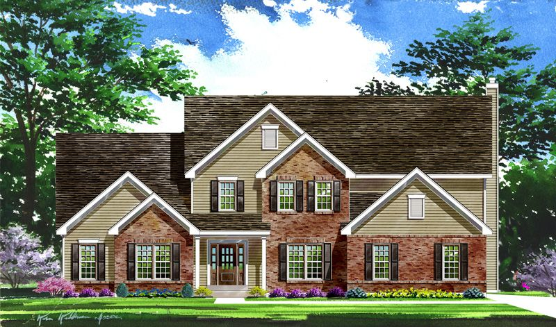 Single Family for Active at Ehlmann Farms - Westbrooke - Estate 101 Ehlmann Farms Drive Weldon Spring, Missouri 63304 United States