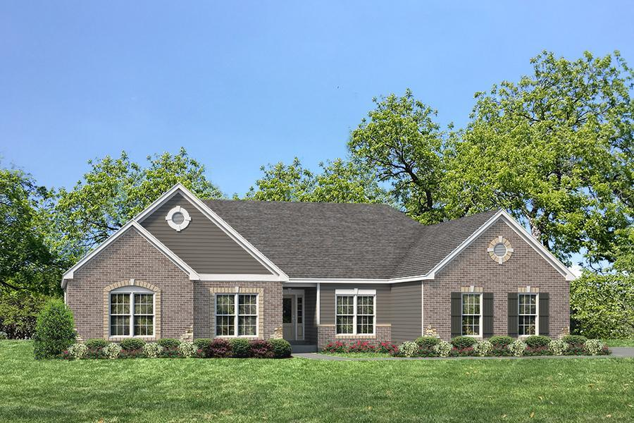 Single Family for Active at The Woods At Cottleville Trail - Durham Ii - Woods At Cottleville Trail Just Off Hwy N, 1.5 Miles East Of Hwy K Cottleville, Missouri 63304 United States