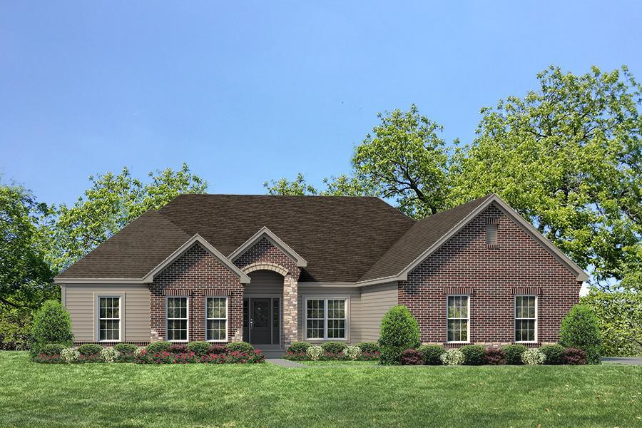 Single Family for Active at The Woods At Cottleville Trail - Arlington Ii - Woods At Cottleville Trail Just Off Hwy N, 1.5 Miles East Of Hwy K Cottleville, Missouri 63304 United States