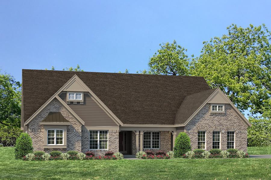 Single Family for Active at The Woods At Cottleville Trail - Nantucket - Woods At Cottleville Trail Just Off Hwy N, 1.5 Miles East Of Hwy K Cottleville, Missouri 63304 United States