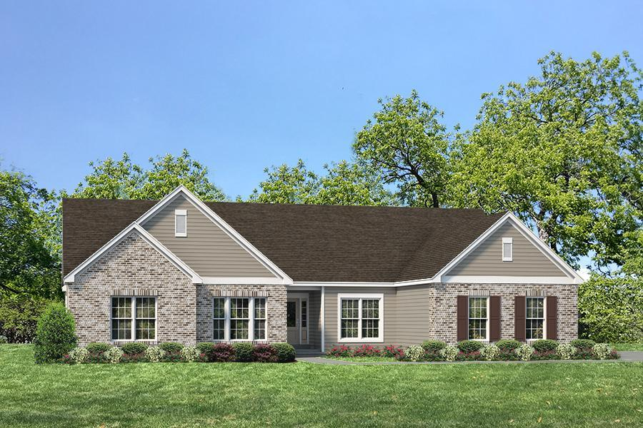 单亲家庭 为 销售 在 Ehlmann Farms - Durham Ii - Estate 104 Ehlmann Farms Dr. Weldon Spring, Missouri 63304 United States