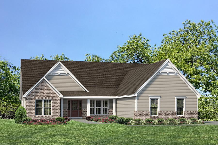 单亲家庭 为 销售 在 Ehlmann Farms - Woodside - Estate 104 Ehlmann Farms Dr. Weldon Spring, Missouri 63304 United States