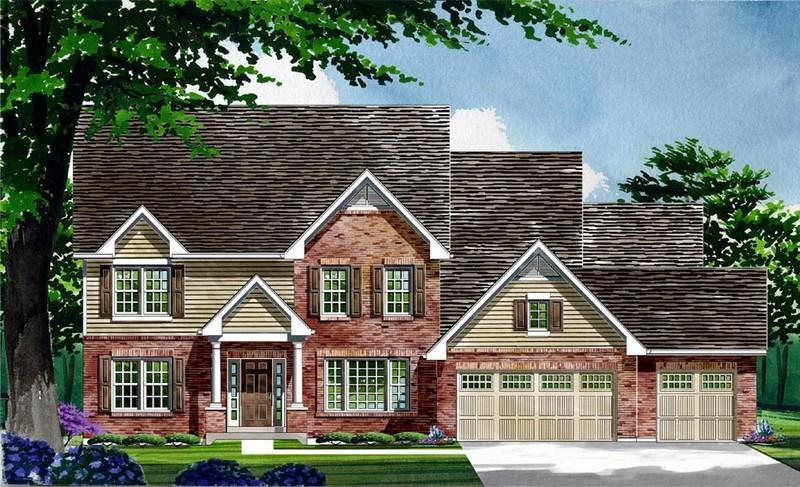 Single Family for Active at Warwick On White Road - Waterford - Warwick 1168 Whetherly Landing Chesterfield, Missouri 63017 United States