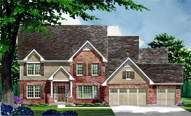 单亲家庭 为 销售 在 Warwick On White Road - Waterford - Warwick 1168 Whetherly Landing Chesterfield, Missouri 63017 United States