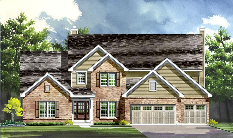 Single Family for Active at Warwick On White Road - Wyndham - Warwick 1168 Whetherly Landing Chesterfield, Missouri 63017 United States