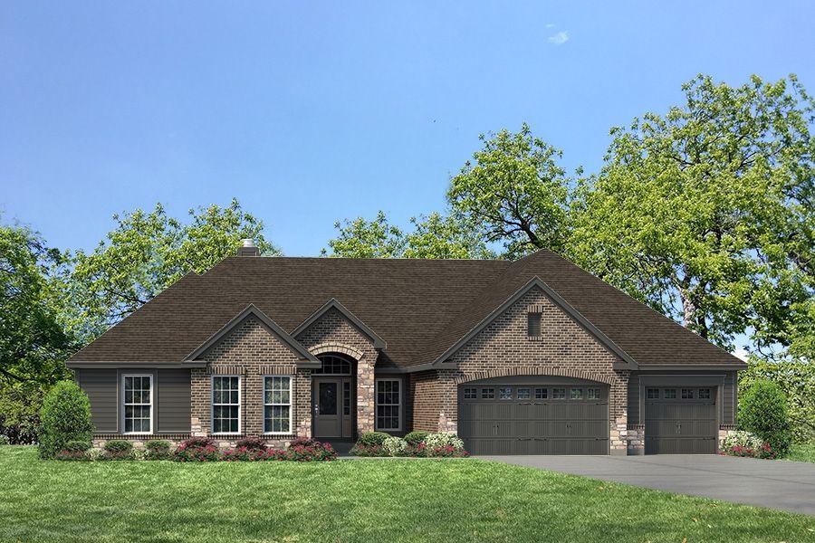 单亲家庭 为 销售 在 The Villages At Brightleaf - Woodland Village - Arlington Ii - Woodland 2481 Bright Leaf Ct Wildwood, Missouri 63011 United States
