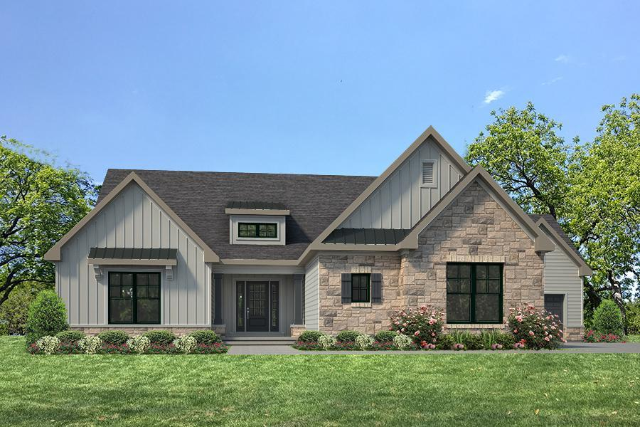 Single Family for Active at Fienup Farms - Luxury Villas - Conway 3 Bedroom - Fienup Farms Luxury Villa 17047 Wild Horse Creek Road Chesterfield, Missouri 63005 United States