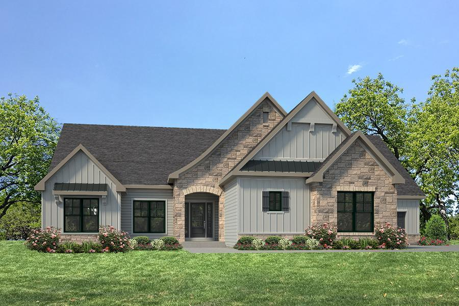 Single Family for Active at Fienup Farms - Luxury Villas - Monarch - Fienup Farms Luxury Villa 17047 Wild Horse Creek Road Chesterfield, Missouri 63005 United States
