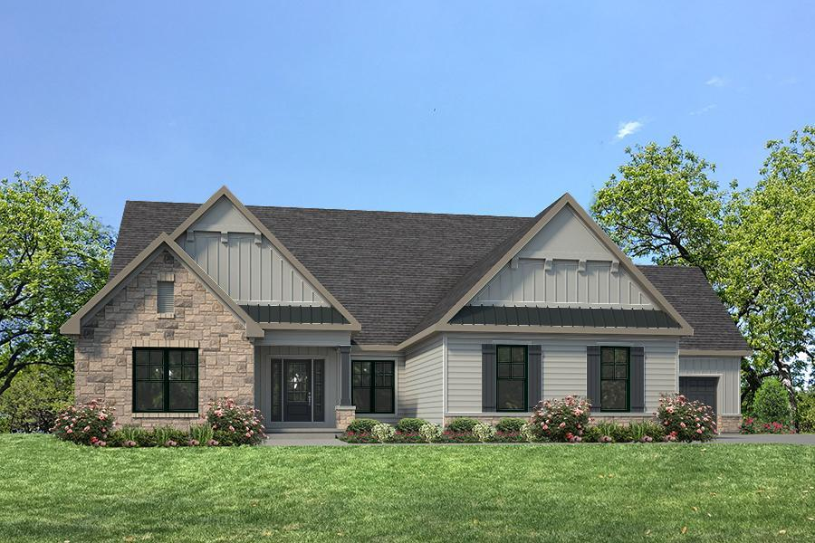 Single Family for Active at Fienup Farms - Luxury Villas - Thornhill 3 Bedroom - Fienup Farms Luxury Villa 17047 Wild Horse Creek Road Chesterfield, Missouri 63005 United States