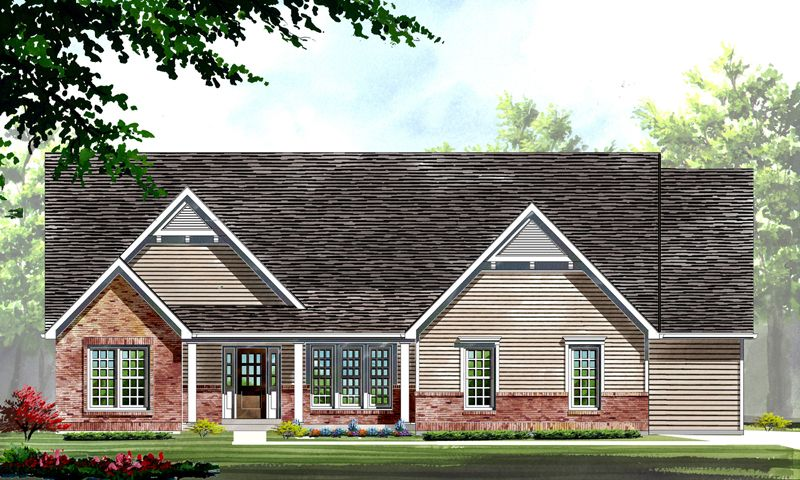 Single Family for Active at Ehlmann Farms - Woodside - Estate 101 Ehlmann Farms Drive Weldon Spring, Missouri 63304 United States