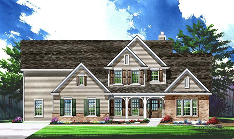 Single Family for Active at Ehlmann Farms - Parkview Ii - Estate 101 Ehlmann Farms Drive Weldon Spring, Missouri 63304 United States