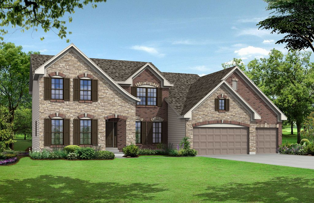 Single Family for Active at Oak Ridge Place - Hemingway 950 Hawkins Rd Fenton, Missouri 63026 United States