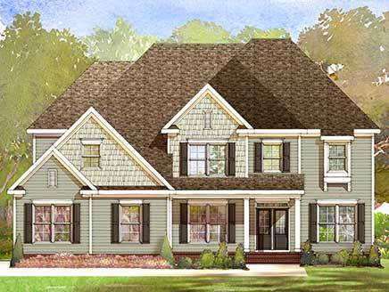 Single Family for Sale at Taft Woods East - Sussex Plan 31 Rockport Drive Clayton, North Carolina 27527 United States