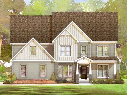 Single Family for Sale at Taft Woods East - Cartwright Plan 31 Rockport Drive Clayton, North Carolina 27527 United States