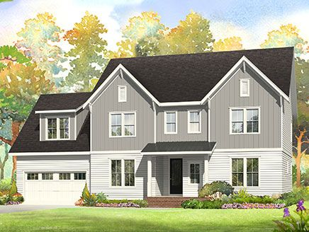 New Construction With  Car Garages Near Holly Springs Nc