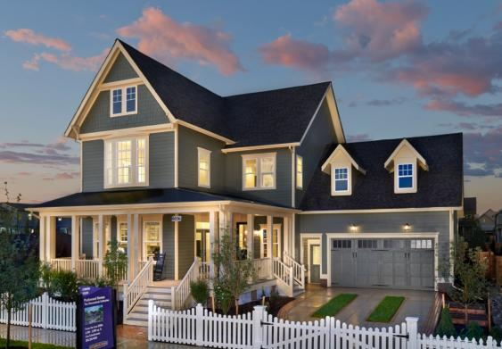 Single Family for Sale at Eleven Neighborhoods - The Chesapeake/Shenandoah - Parkwood Homes 7351 East 29th Avenue Denver, Colorado 80238 United States