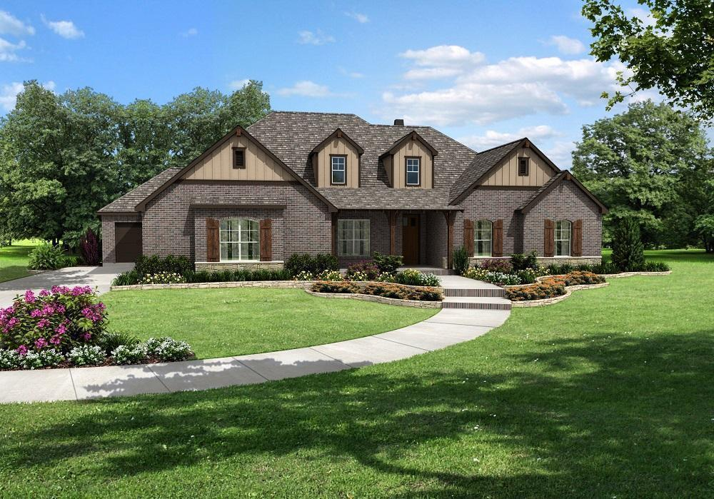 Landrun westchester 3cs normancleveland county for Norman ok home builders