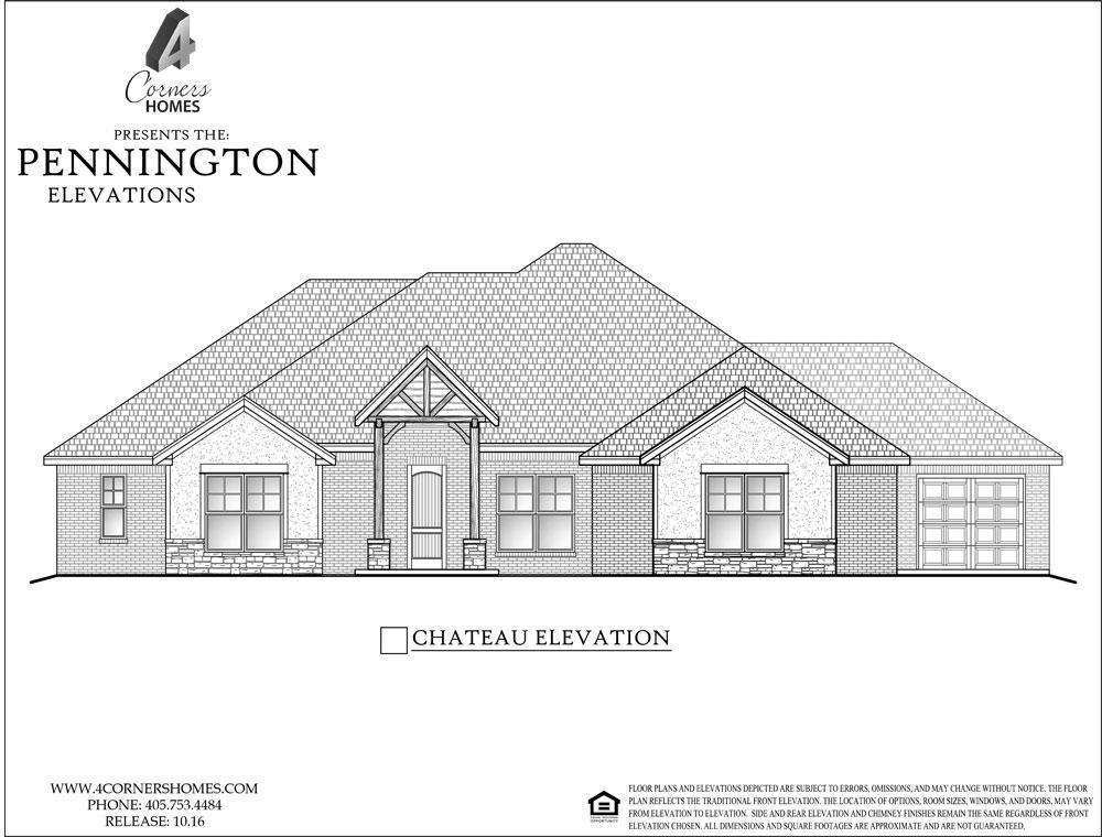 4 Corners Homes The Ridge Pennington 2 1c 1343557 Edmond Ok New Home For Sale Homegain