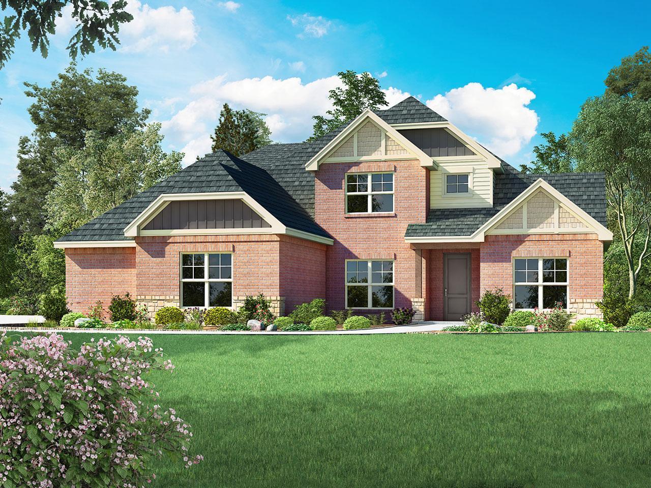 Single Family for Sale at Asheville - Bainbridge - 3cs Choctaw, Oklahoma 73020 United States