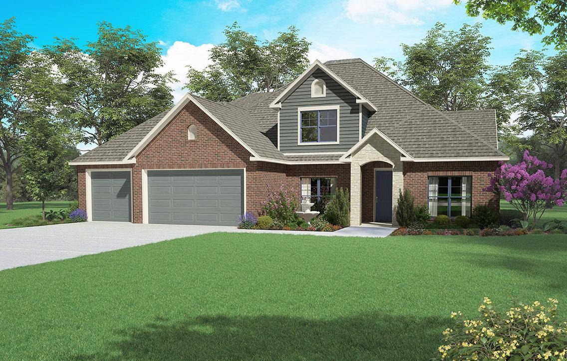 Single Family for Sale at Asheville - Bainbridge Se 57th St Choctaw, Oklahoma 73020 United States