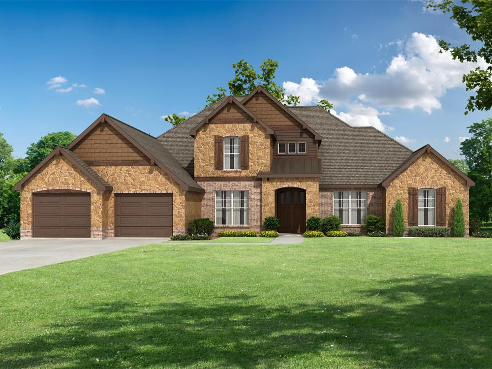 Single Family for Sale at Asheville - Stratford Se 57th St Choctaw, Oklahoma 73020 United States