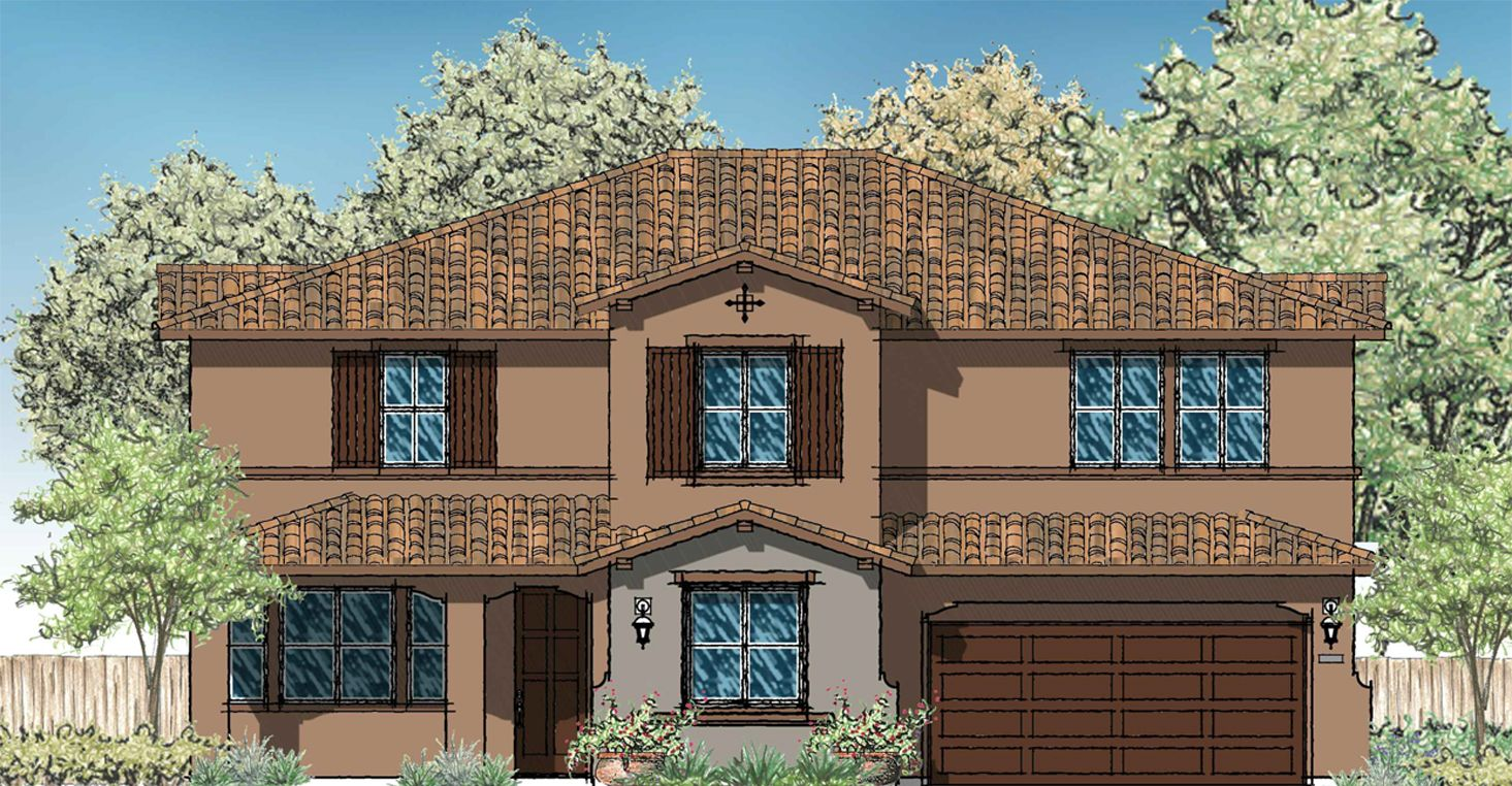 Single Family for Sale at Estancia - Residence 3 28084 Bay Ave Moreno Valley, California 92553 United States